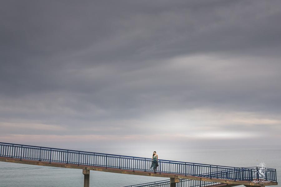 Preboda en Málaga, un paseo por las nubes, fotógrafo  Miguel márquez