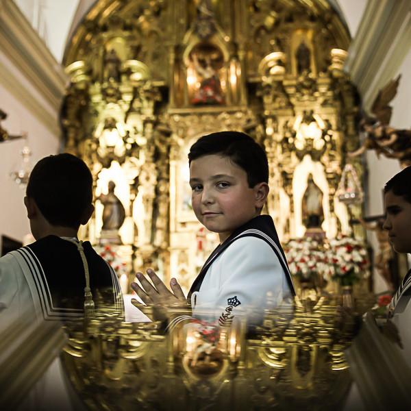 Comunión en la Iglesia San Telmo de Chiclana