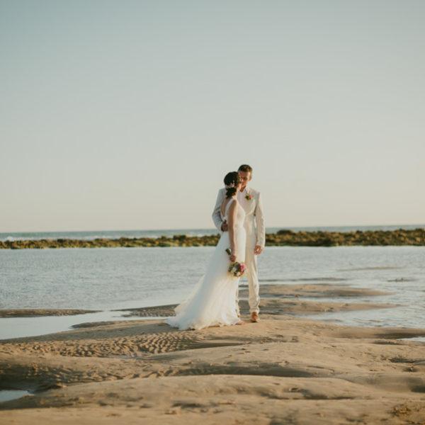 Boda en la playa Zahora.