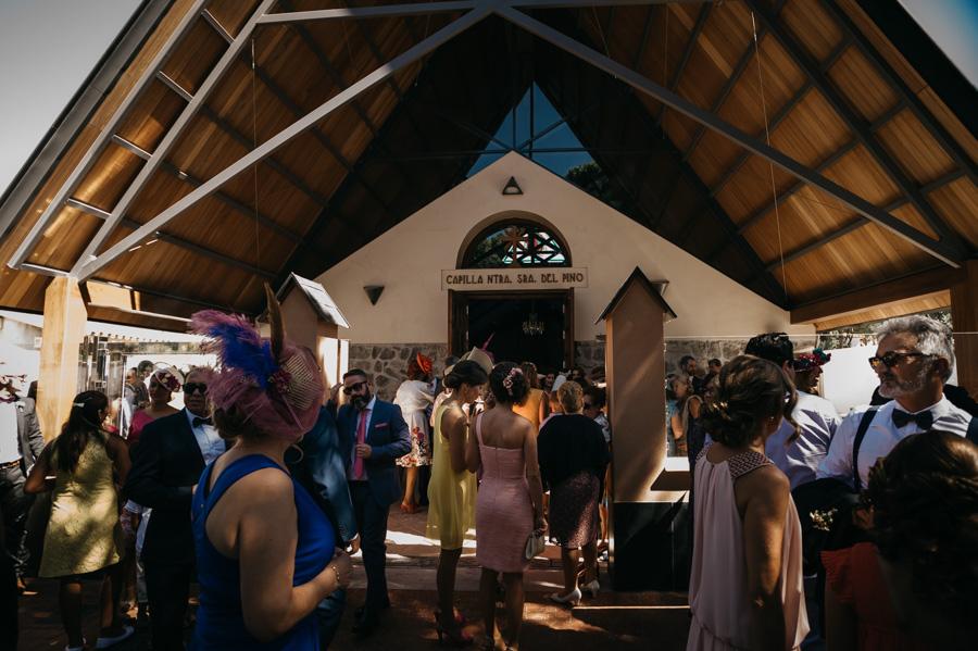 boda en Chiclana, Capilla del pino