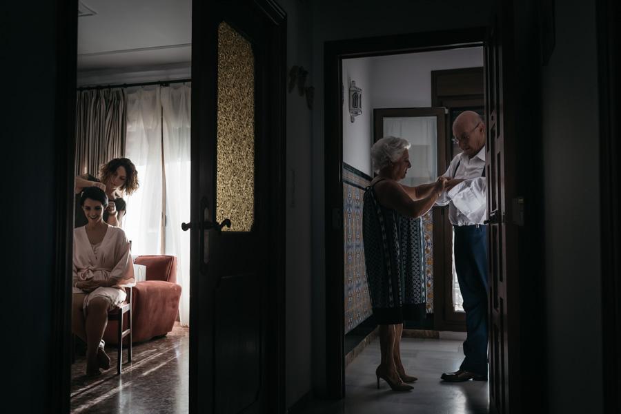 Boda en Chiclana, bodegas Velez