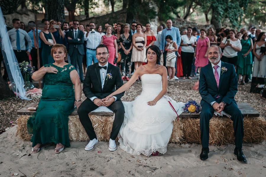 Camping cortes de la frontera boda