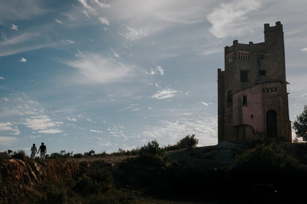 pre boda en Coín, castillo de la mota