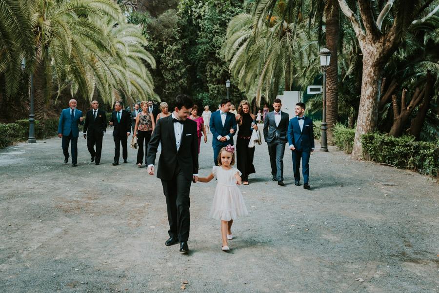 boda jardin botanico de malaga